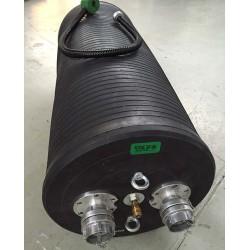 CTV Afspærringsballon PU-F 60/120 Ø600-1200 mm med gennemløb - Kloakballoner:, Med gennemløb - C-TV