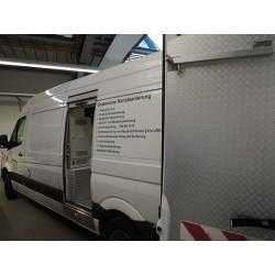 IBAK TV- og højtryksspulebil - Interiøropbygning model Standard - Populære produkter, TV-biler - IBAK