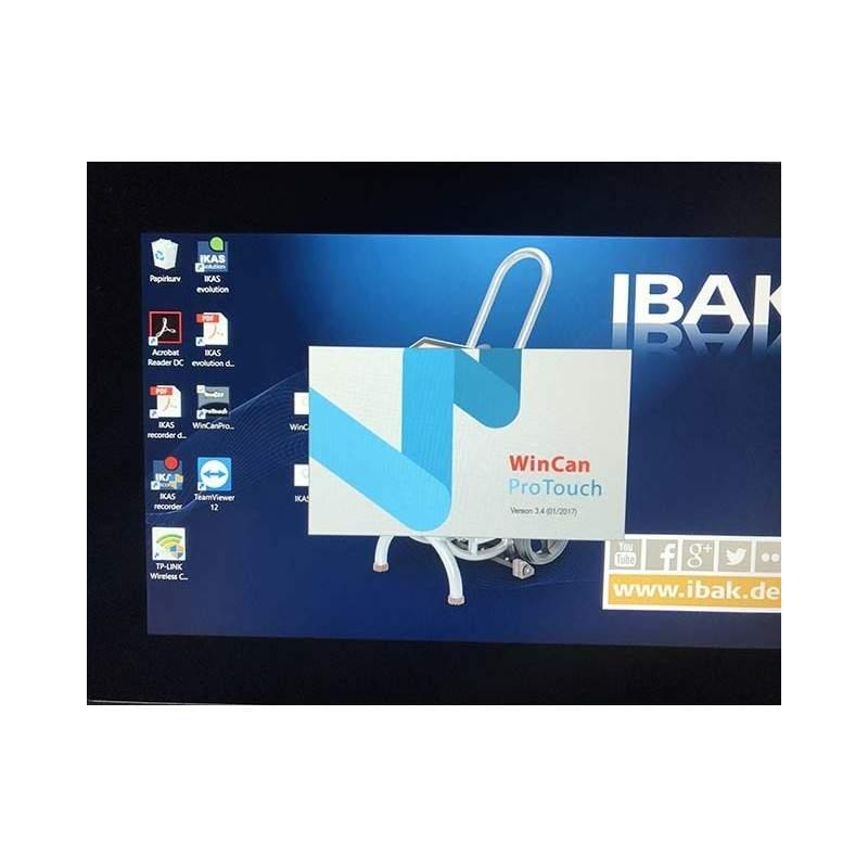 WinCan ProTouch inspektionssoftware til installation på IBAK MiniLite - TV-inspektions software, WinCan VX (V8) - WinCan