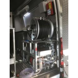IBAK TV- og spulebil - Interiøropbygning model Standard med gennemgang - TV-biler - IBAK