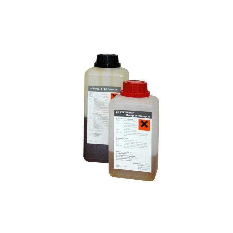 CTV silikat PL 2K Sommer til Ø100 mm - 250 ml + 500 ml. - Punktrenovering: , Kemi - Silikat, Rep. sæt - C-TV