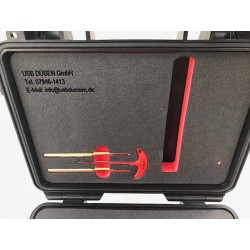 """USB Düsen Turbo-I rodskærer kuffertsæt (G1/2"""" eller G3/4"""") - Rodskærer - USB Düsen"""