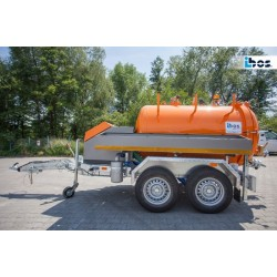 ibos MiniVac slamsuger trailer 3.5 ton