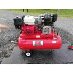 Næsten ny luftkompressor