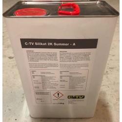 CTV Silikat PL 2K Sommer, komp. A /14kg til PointLiner - Punktrenovering: , Kemi - Silikat - C-TV