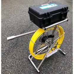 CTV Eagle Maxi BOX 40/7 med gyrokamerahoved og 40 mtr. rørål - Skubbe kamera:, Axial kamera - C-TV
