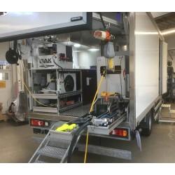 IBAK TV- & cutter lastbil - Interiøropbygning i glasfiberkasse - IBAK Cutter-bil - IBAK