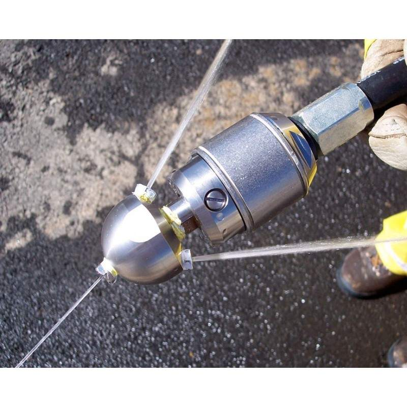 """Warthog WS-1/2""""- Vanddrevet Jet Cutter - Produkter, Spule- og kloak dyser, Rodskærer, Rotationsdyser - Warthog by Stoneage"""