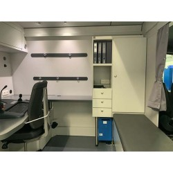 IBAK TV-bil - Interiøropbygning model Standard - EX udstyr, TV-biler - IBAK
