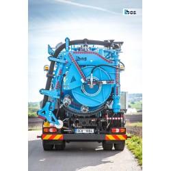 ibos Kombo 8 Combi slamsuger med 8 m3 tank - Produkter, Slamsugere, Nye produkter, Combi anlæg - ibos