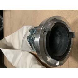 """CTV - Brandslange 6"""" med kobling - 2 mtr. til inverteringstromle - NO DIG, Strømpeforing:, Andet reliningudstyr, Nye produkter"""