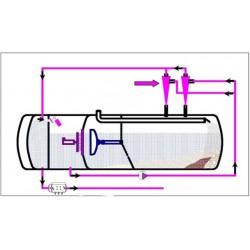 SUPER 1000 vandgenbrugsanlæg - teknisk beskrivelse - Vandgenbrugsanlæg, Combi anlæg - WIEDEMANN enviro tec