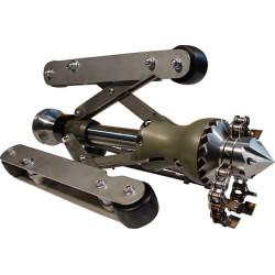 "USB Düsen Turbo-2 FLEX rodskærer med kæder (G3/4"" eller G1"") - Rodskærer - USB Düsen"