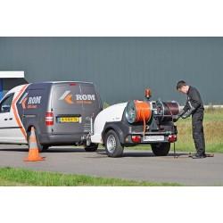 ROM SmartTrailer Pro 200/60 diesel - Trailere og pick-up:, Spuletrailere - ROM