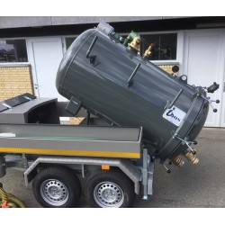 ibos MiniVac slamsuger trailer 3.5 ton - Trailere og pick-up:, Populære produkter, Sugetrailere - ibos