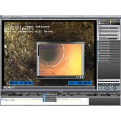 CometSoft TV-inspektionsprogram Lite - TV-inspektions software - CometSoft
