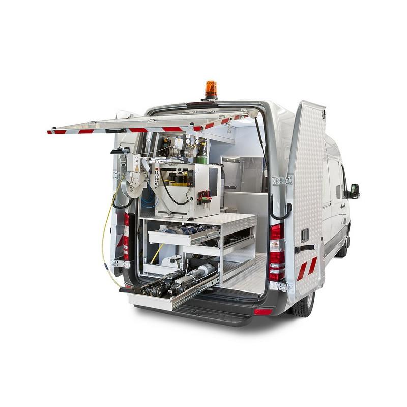 IBAK TV-bil - Interiøropbygning model Standard - EX udstyr:, EX zone 1 , TV-biler - IBAK