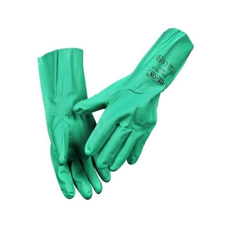 Ox-On kemihandske nitril, str. 10 engangshandsker - Strømpeforing:, Punktrenovering: , Handsker mm. - C-TV