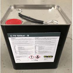 CTV silikat PL, komp B /21 kg