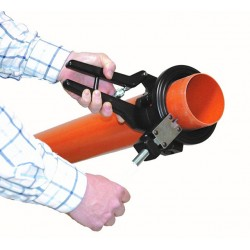 CTV PVC Cutter til Ø110 mm rør - Handy løsning - Hjælpemidler - C-TV