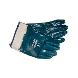 CTV NBR-handsker kraftig kvalitet heldyp m/manchet