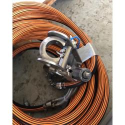 CTV WinCutter Ø80-200 mm - manuel cykelstyrs cutter - Cutter udstyr:, Manuel cutter - C-TV
