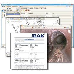 IBAK IKAS Evolution til håndskubbesystemer - TV-inspektions software, IKAS Evolution - IBAK