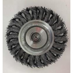 Flad stålbørste med spændring og adapter til IBAK MicroGator - Produkter, NO DIG, Fræsehoveder - Schneider