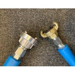 """Slangetilslutning 3/8"""" 10 mtr. med 1"""" Storz kobling - Produkter, NO DIG, Strømpeforing:, Reliningudstyr - C-TV"""