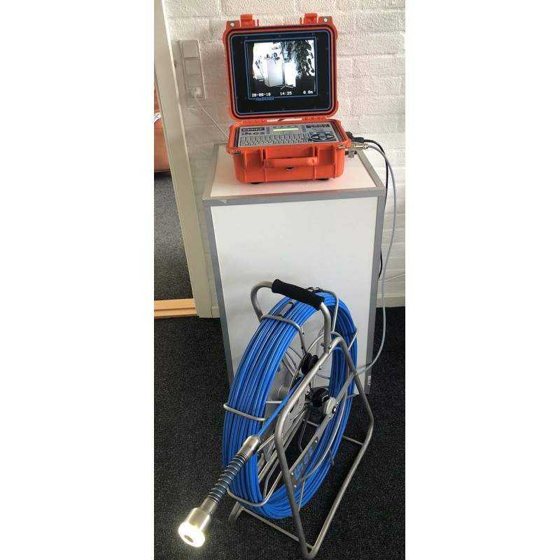 Ibos ReBoss KA46 TV-inspektionskamera - Skubbe kamera:, Axial kamera - ibos