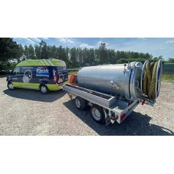ROM VAC 1750 Pick-Up slamsuger (leveres uden trailer) - Trailere og pick-up - ROM