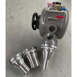 KrasoTech KrasoDrum 400 ALU inverteringstromle inkl. studs til strømpeforing - NO DIG, Nye produkter, Inverteringstromle - Kraso