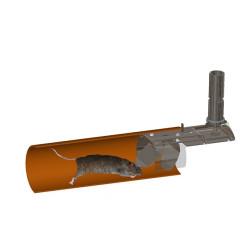 Nordisk Innovation TX11 Ø150/160 mm rottespærre universal - RING FOR DIN PRIS! VI HAR PRISGARANTI - Produkter, Rottespærre - Nor