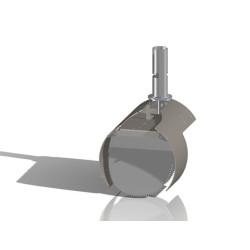 Nordisk Innovation TX11 Ø200 mm beton rottespærre universal - - RING FOR DIN PRIS! VI HAR PRISGARANTI - Andet udstyr, Rottespær