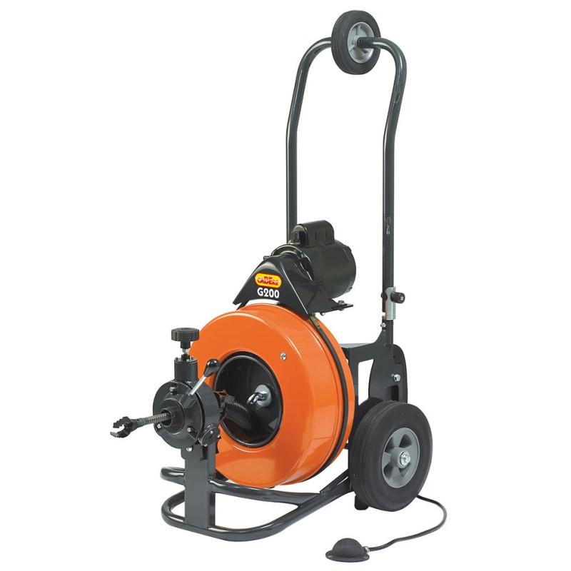Cabere G200 motorsplit til kloak inkl. tromle og værktøj - Motorsplit - CaBEre