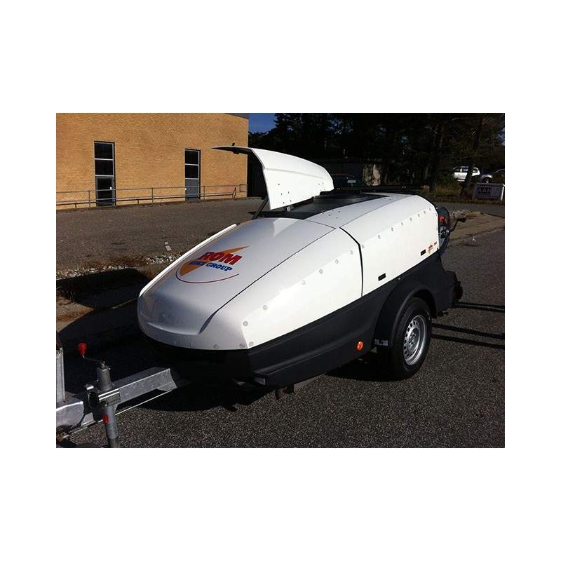 ROM 900 Trailerløsning 200/60 diesel - Trailere og pick-up:, Spuletrailere - ROM